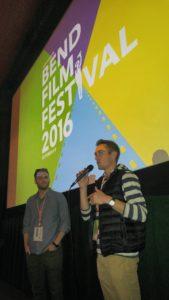 """Present Filmmakers"" Daniel Rink (left) and Cooper Anderson"